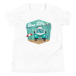 Load image into Gallery viewer, Bus Life at the Beach Kids Tee
