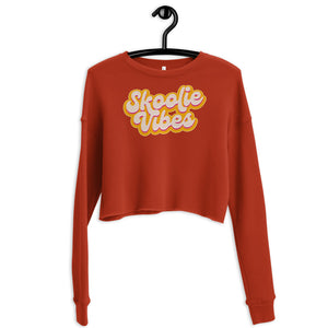 Load image into Gallery viewer, Skoolie Vibes Crop Sweatshirt