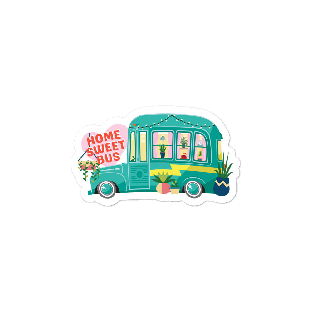 Load image into Gallery viewer, Home Sweet Bus Sticker