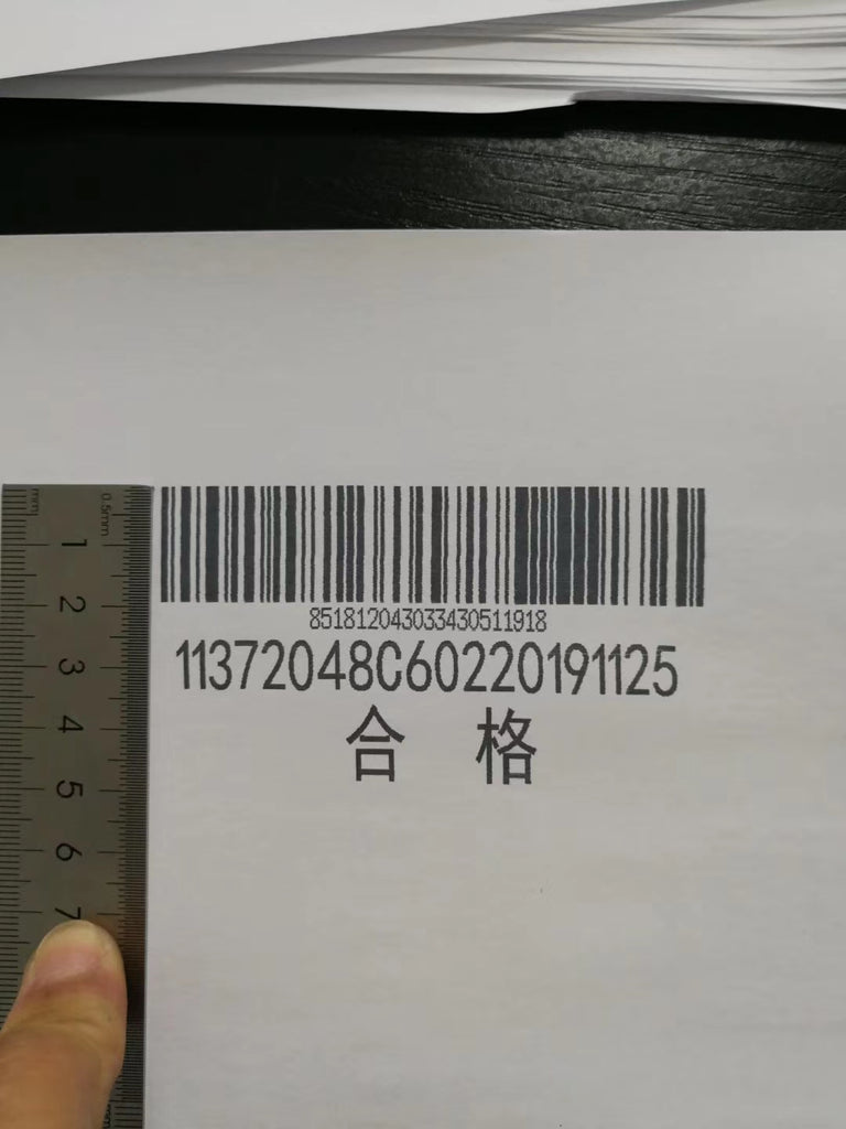 inkjet coding barcode and production date, batch number and MFG on the carton with SoliJet dual ink carttridge handheld inkjet printer SX2
