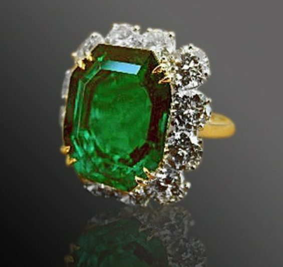 The Van Cleef and Arpel Emerald and Diamond Ring - SOLD