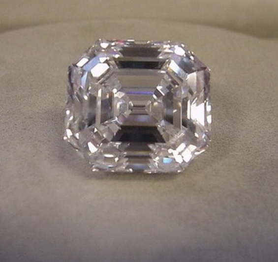 The Ortman Asscher Cut Diamond - SOLD