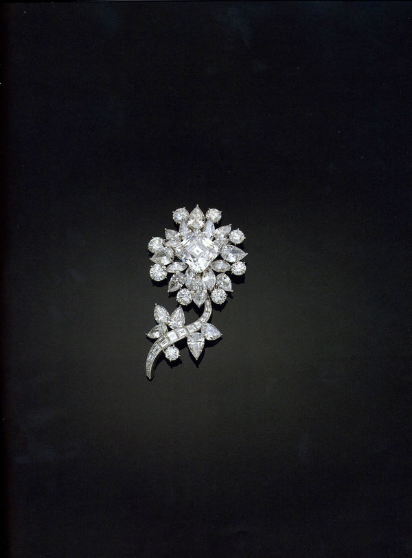 The Ortman Diamond Floral Brooch - SOLD
