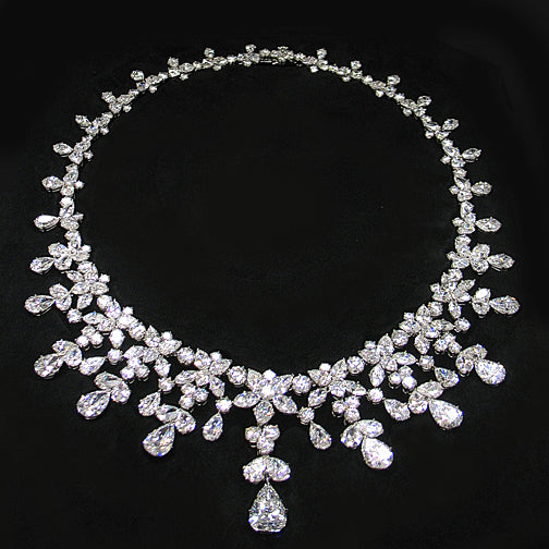 The Cartier Diamond Necklace - SOLD