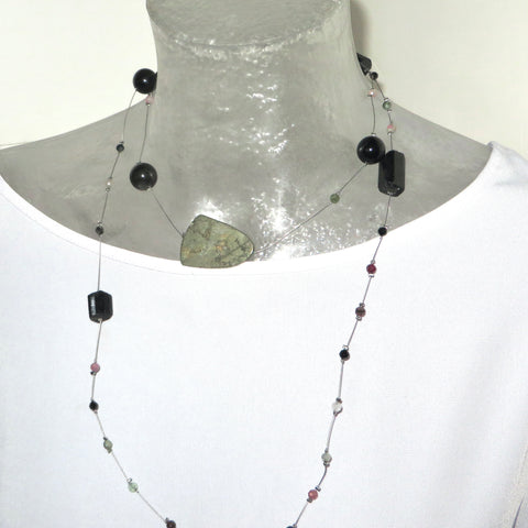 Image of Pyrite and Tourmaline Neckpeacemaker
