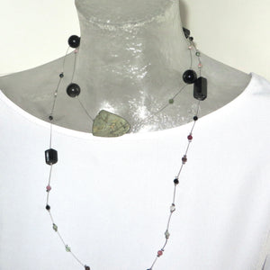 Pyrite and Tourmaline Neckpeacemaker