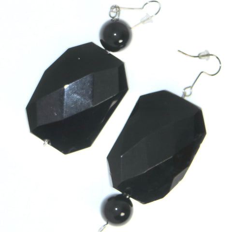 Upside Dressed to Impress Ear Peacemaker  - Black Obsidian