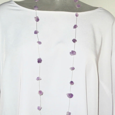 Image of Light Amethyst points Neck Peacemaker