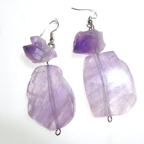 Goddess Pure Amethyst Ear Peacemaker