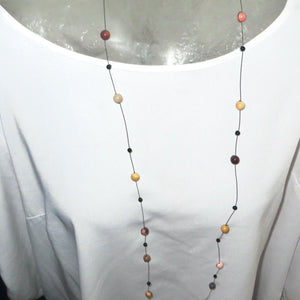 Mini Mookaite Neck Peace Maker - 52""