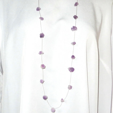Light Amethyst points Neck Peacemaker