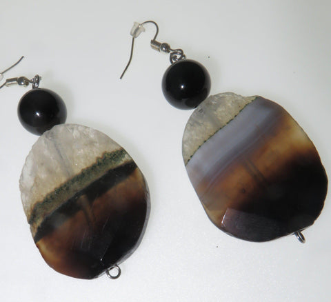 The Boss Ear Peacemaker - Agate & Tourmaline