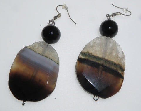Image of The Boss Ear Peacemaker - Agate & Tourmaline
