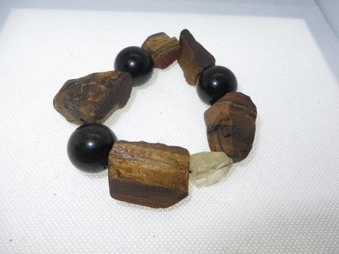 Tigers Eye Wrist Peace Maker
