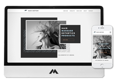 WIX website design for hair and beauty salon in Regina SK Hair In Motion