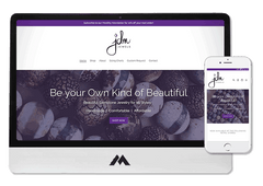 Shopify Website Design for Gemstone Jewelry and Boutique in Carlyle SK JDM Jewels
