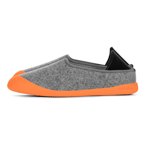 mahabis curve in larvik light grey x orange