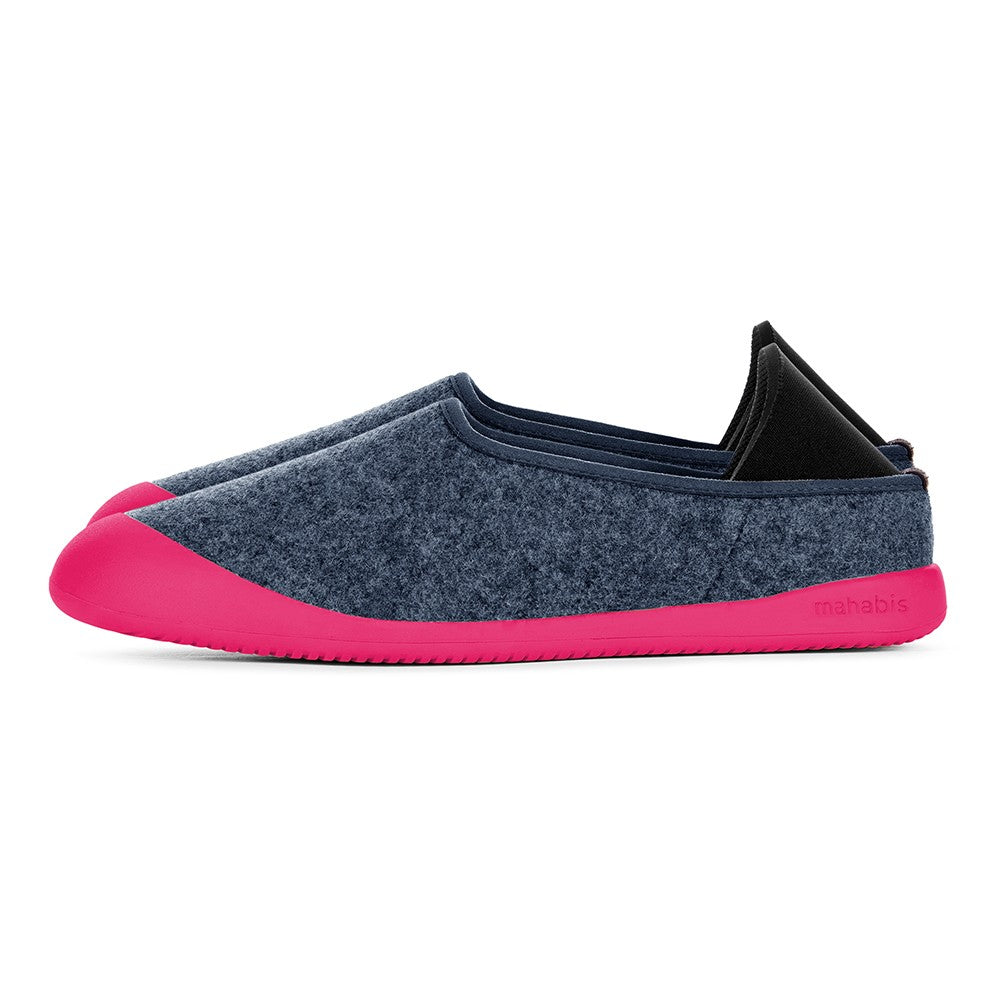 mahabis curve classic in malmo blue x pink