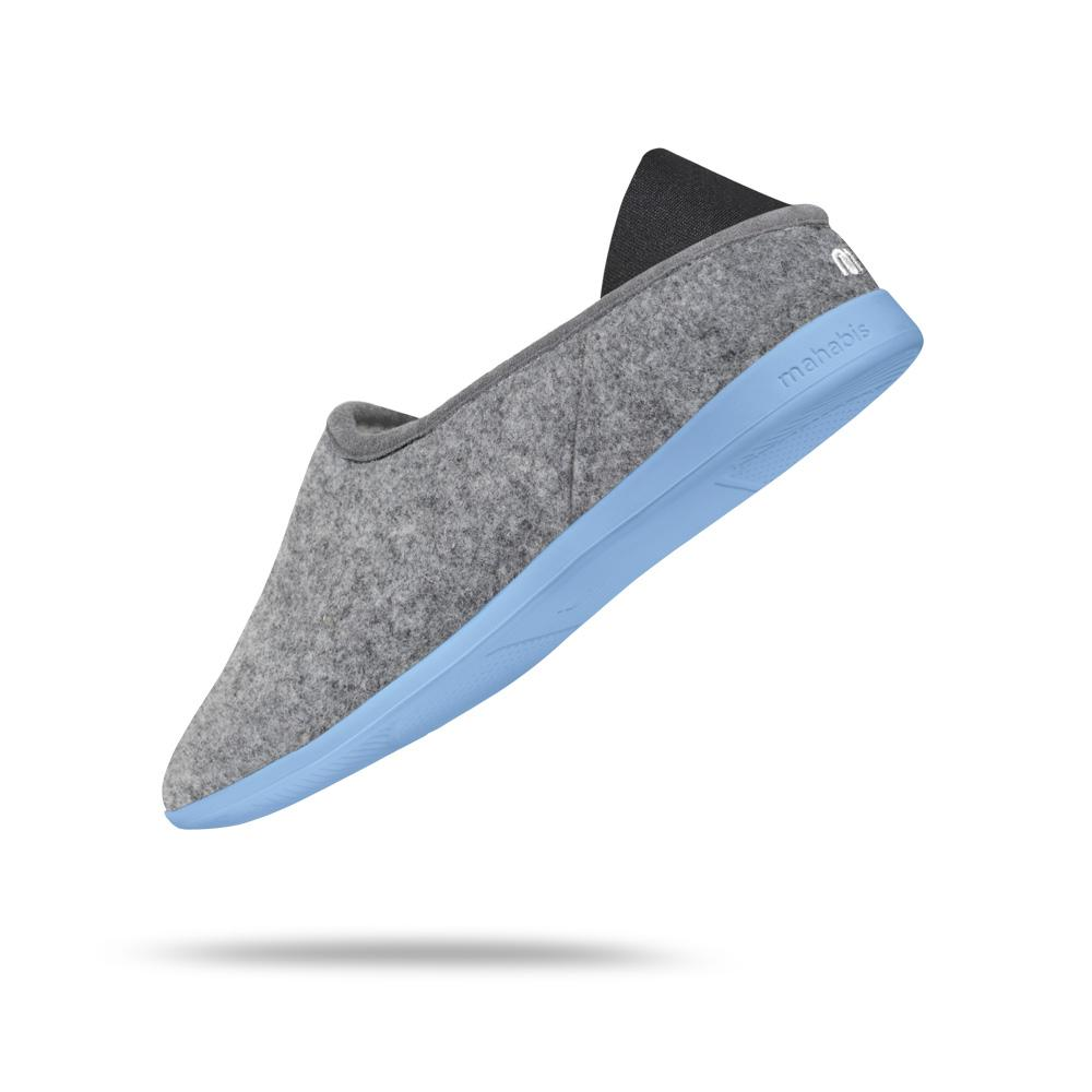 mahabis classic in larvik light grey x vatten blue
