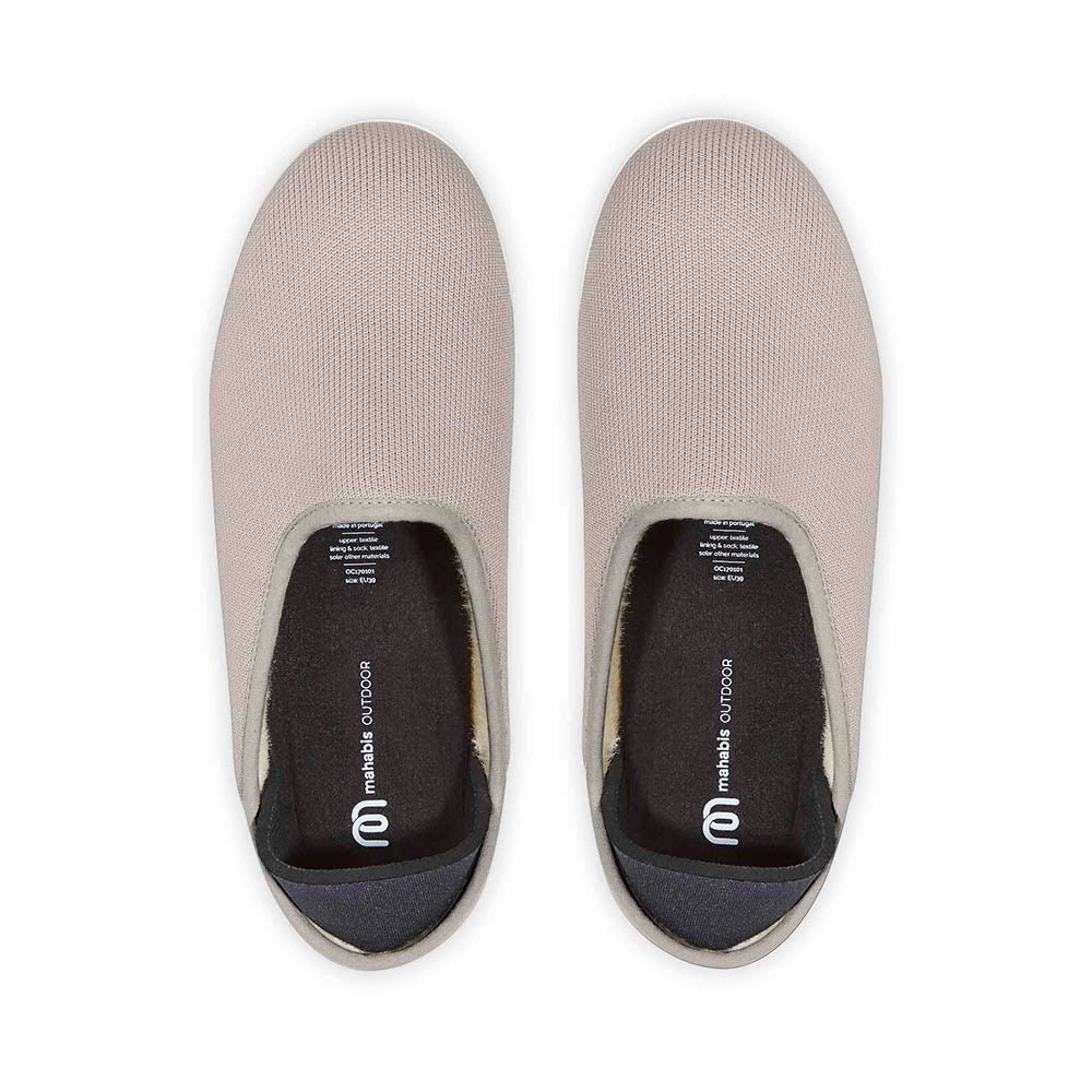 Arden Bronze Mahabis Canvas Slipper