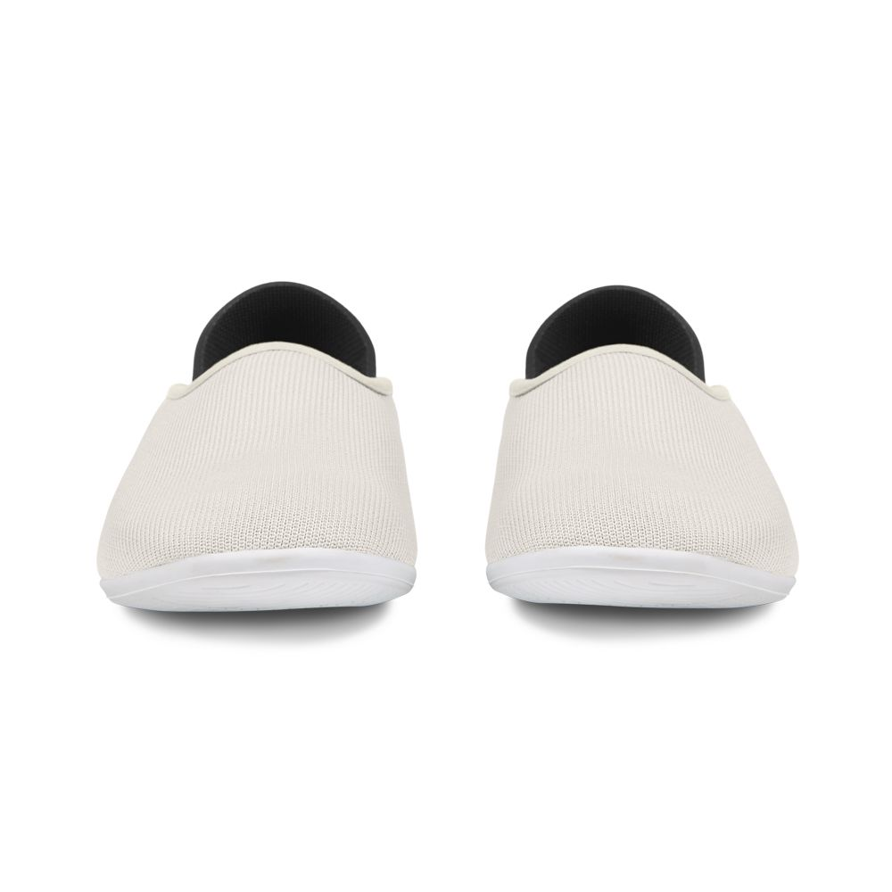 Korsor Beige Mahabis Canvas Slipper