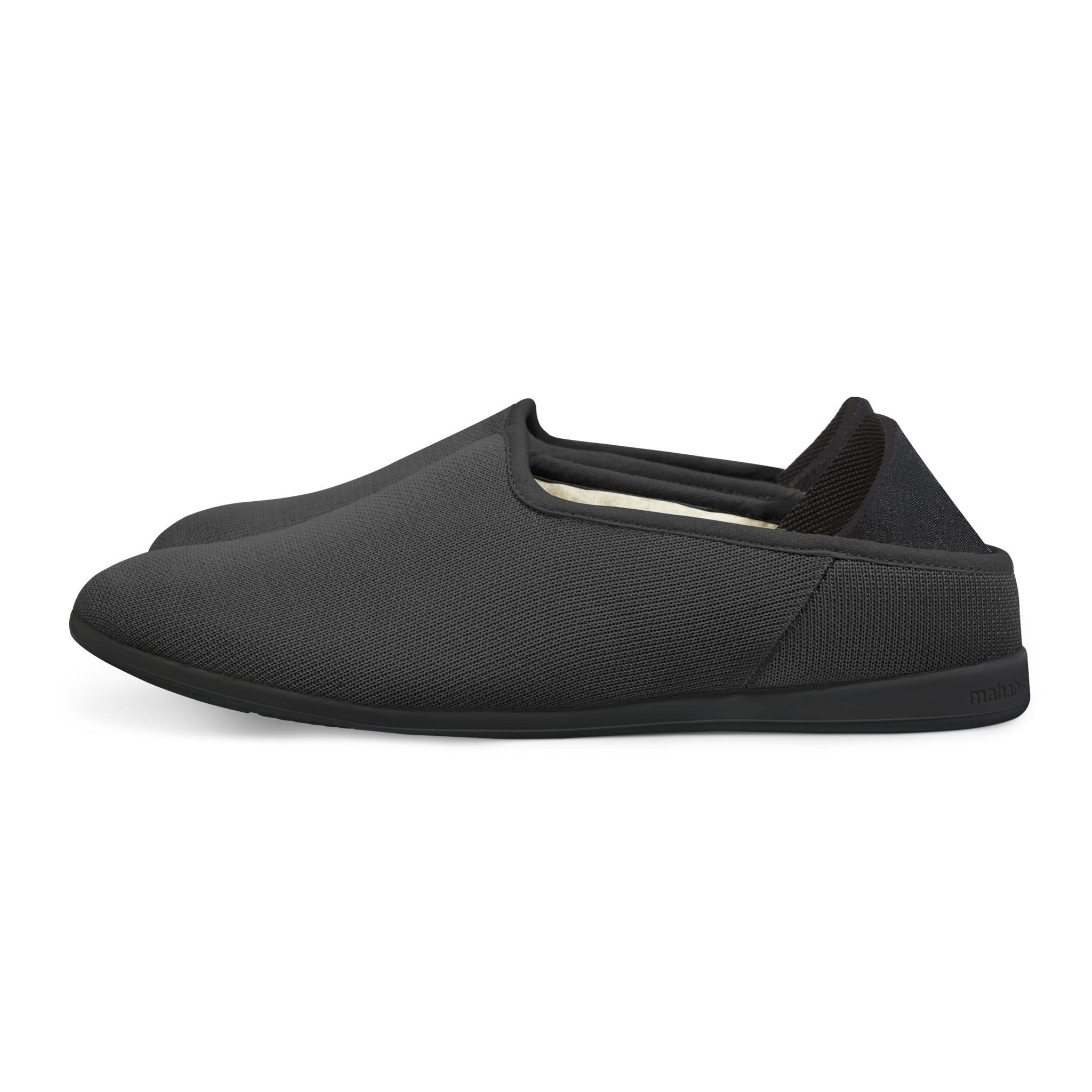 Black Edition Mahabis Canvas Slipper
