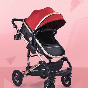 Baby Stroller 3 in 1 Portable