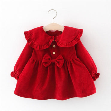 Winter Baby Princess Dress for Christmas & New Year