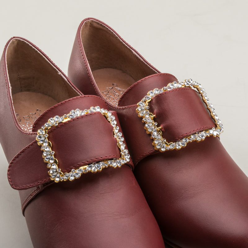 Fleur 18th Century Shoe Buckles (Gold)