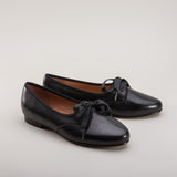 Albert Men's Georgian Pumps (Black) (1790 - 1820)