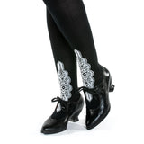 Edwardian Silk Stockings (Black)