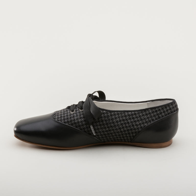 Eliza Early Victorian Shoes (Grey/Black)(1830-1860s)