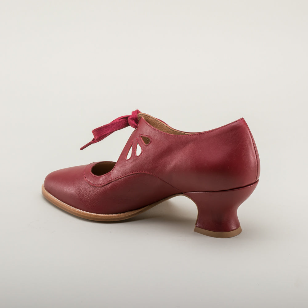 Gibson Edwardian Leather Shoes (Oxblood)(1900-1925)