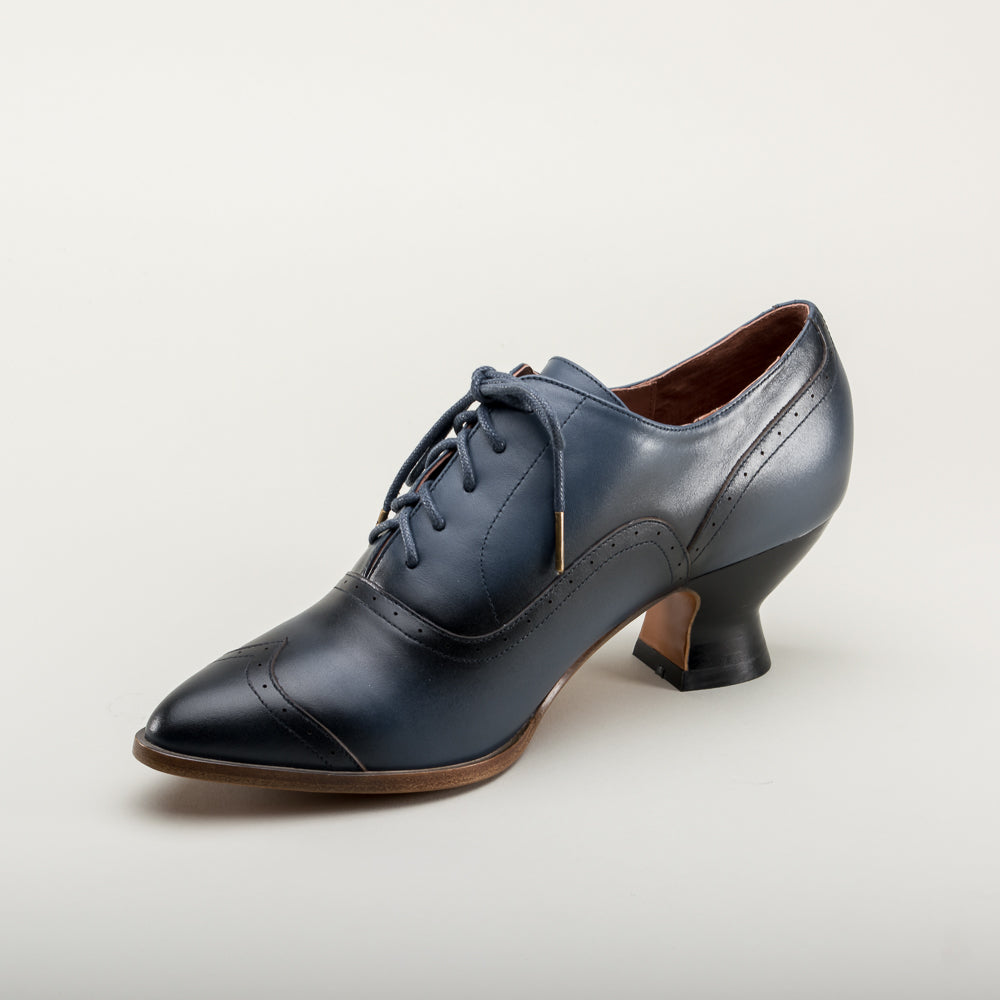 PRE-ORDER Londoner Edwardian Oxfords (Blue)(1900-1925)