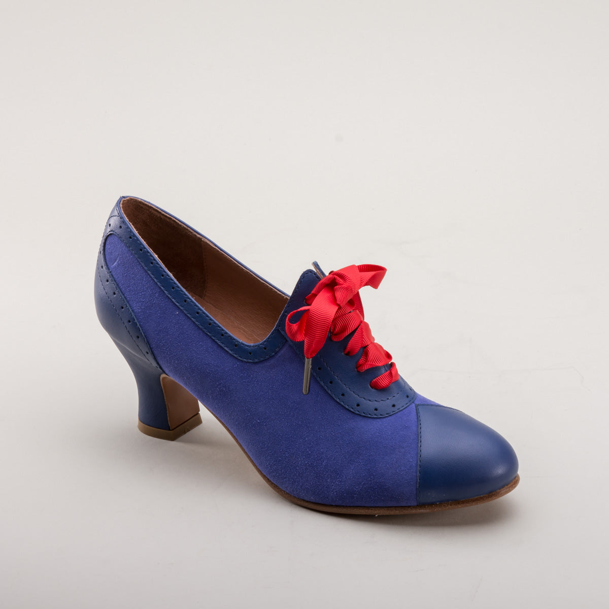 Poppy Retro Oxfords (Blue)
