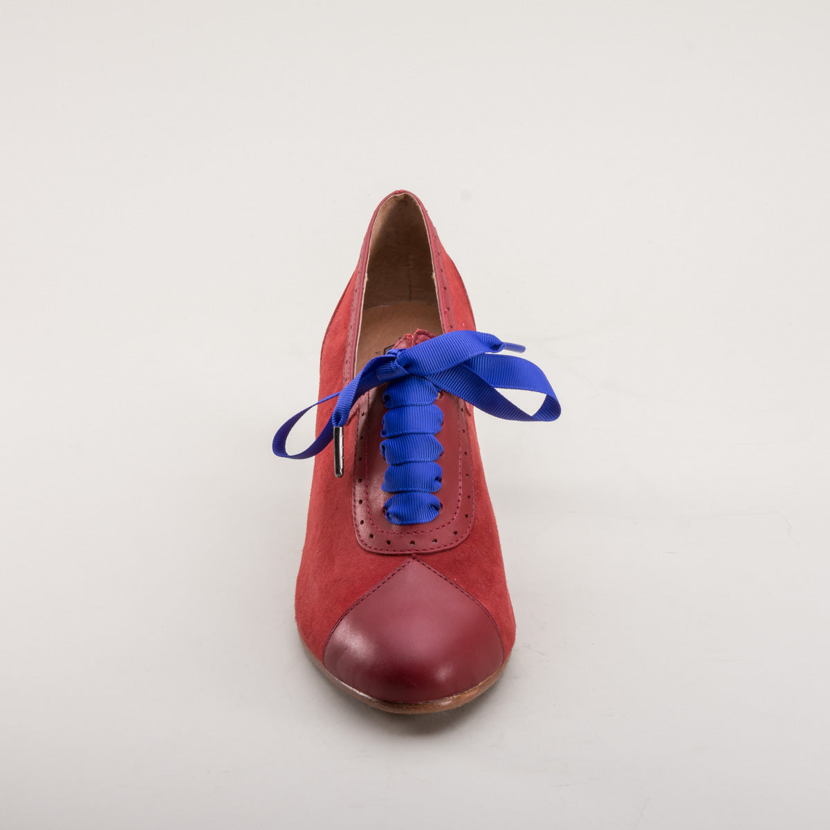 Poppy Retro Oxfords (Red)