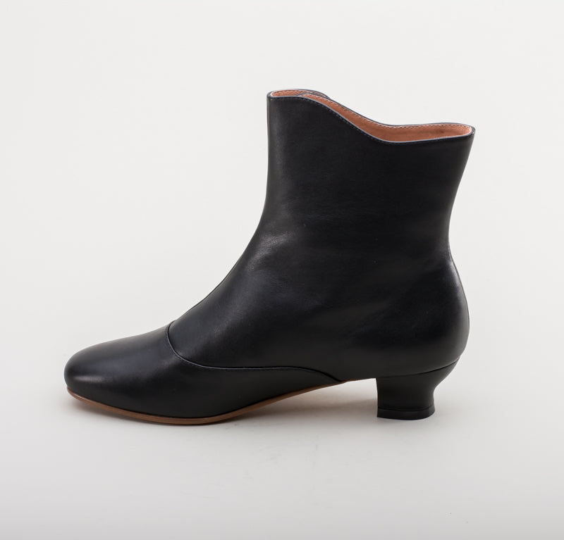 Renoir Civil War Button Boots (Black)(1850-1880s)