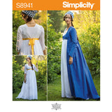 Simplicity S8941 Regency Gown & Robe Sewing Pattern