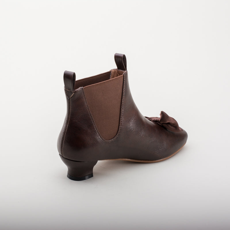 Vienna Victorian Congress Boots (Brown)(1850-1880s)