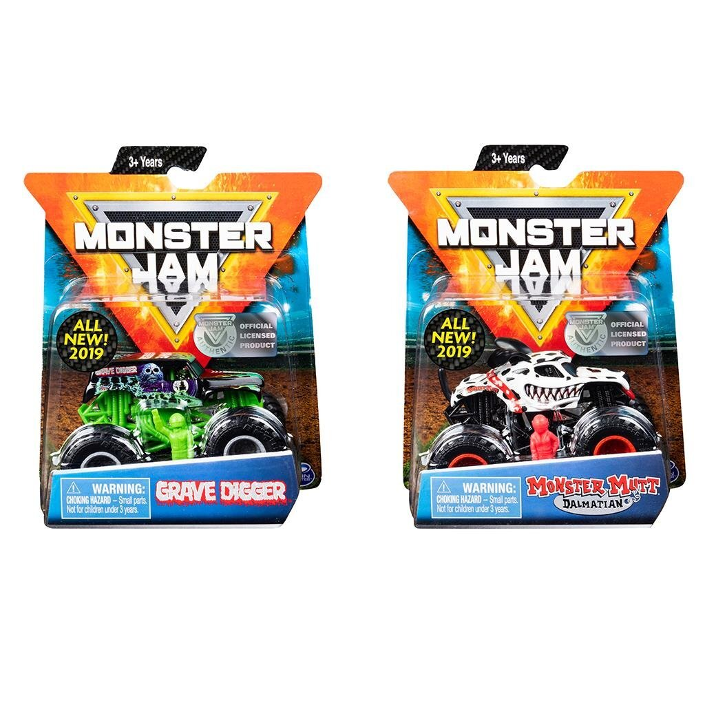 Monster Jam Die-Cast Truck 1:64 Assorti