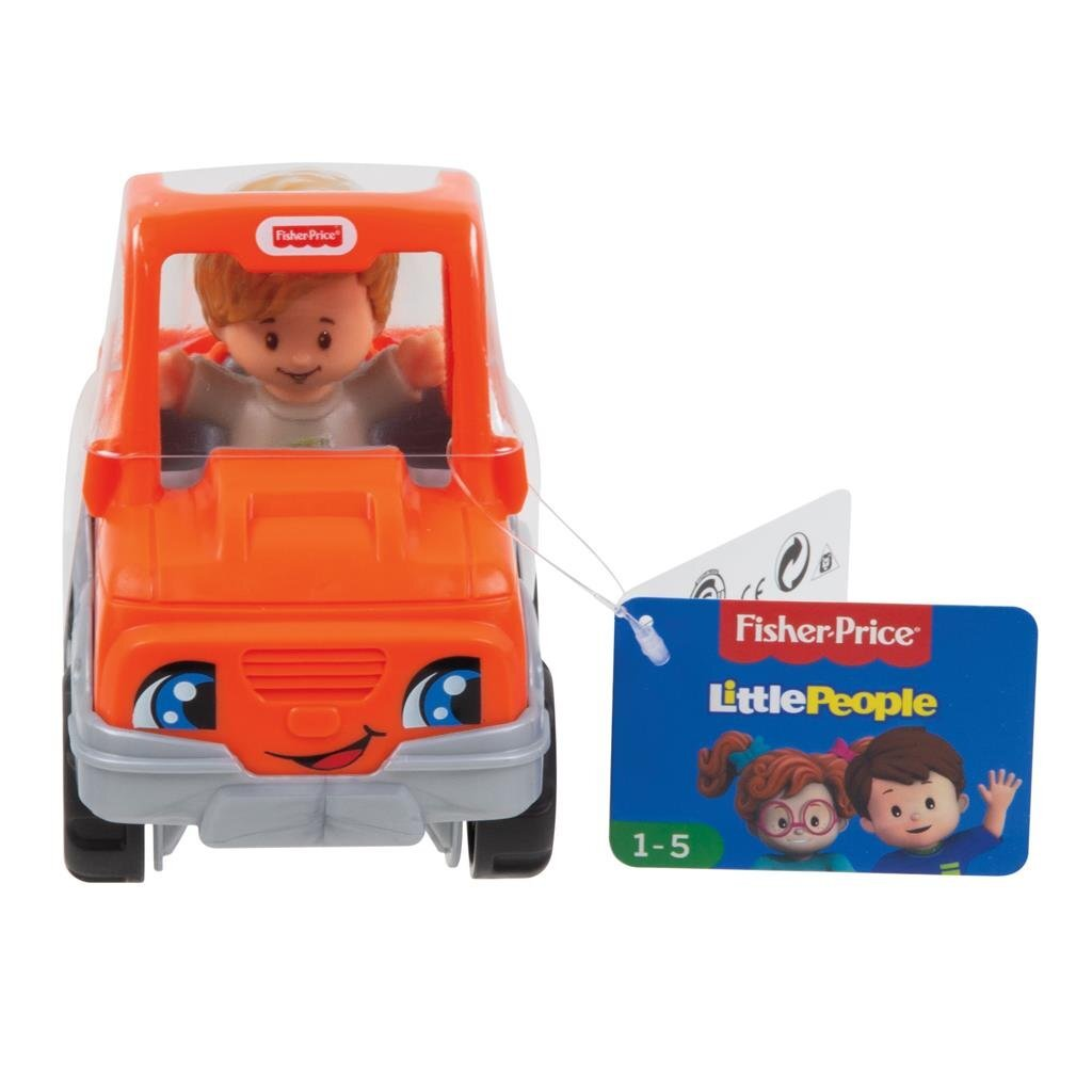 Fisher Price Little People Voertuig + Figuur Assorti