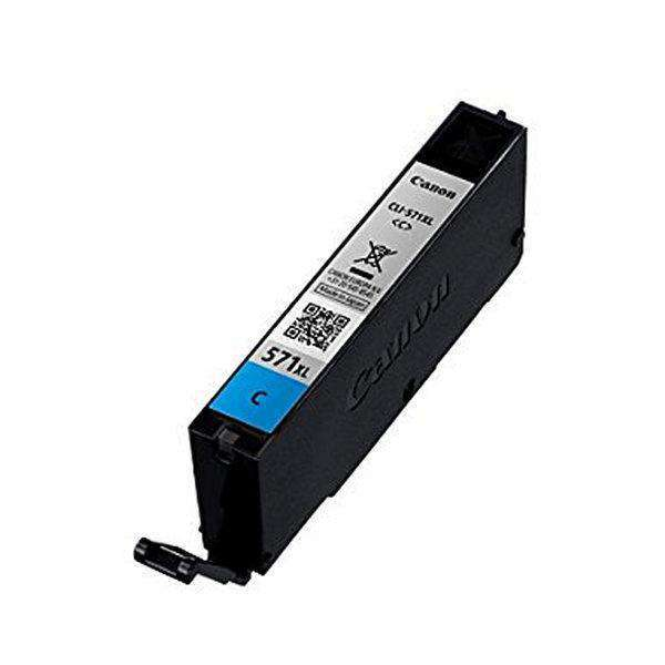 Originele inkt cartridge Canon CLI-571CY XL Cyaan