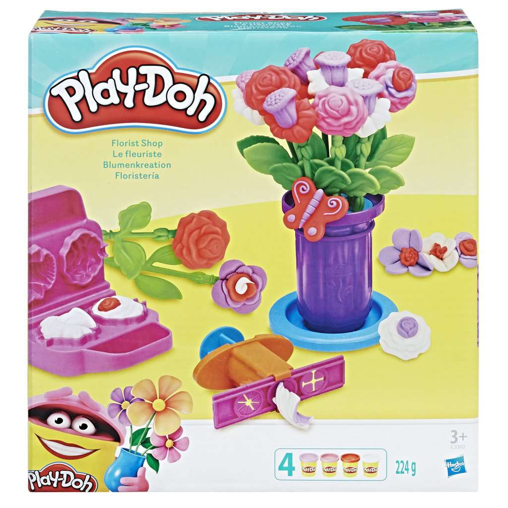 Play-Doh Gardener Role Play + 4 Potjes