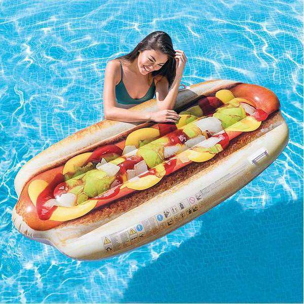 Opblaasbaar matras Intex Hot dog (180 X 89 cm)
