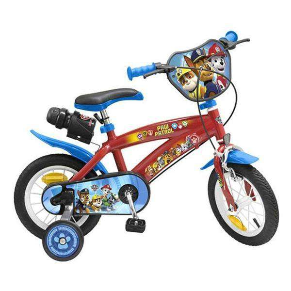 "Kinderfiets The Paw Patrol 12"" Rood"