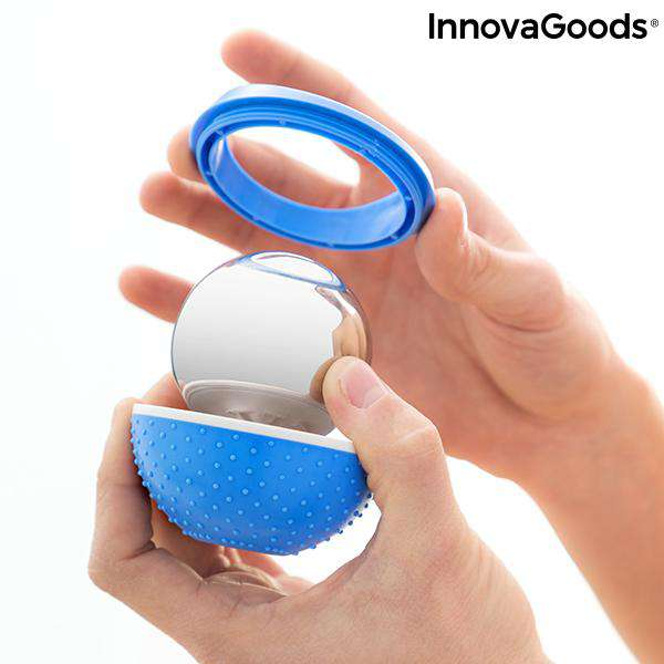 2-in-1 Koud-Effect Massagebal Bolk InnovaGoods