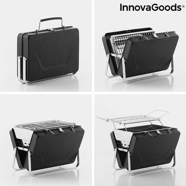 Draagbare, Opvouwbare Houtskoolbarbecue Handy·q InnovaGoods