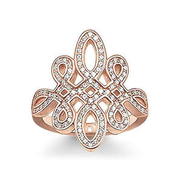 Ring Dames Thomas Sabo TR1974-416-14 (17,2 mm)