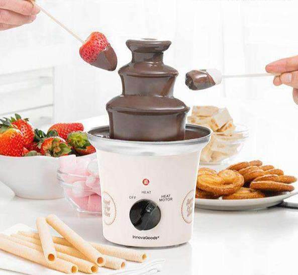 InnovaGoods Sweet & Pop Times Chocoladefontein 70W Wit Staal