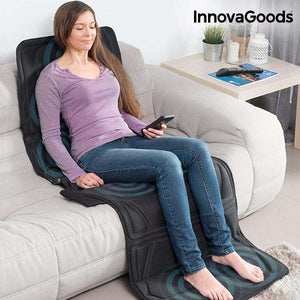 InnovaGoods 14W Black Relax Cloud Massagemat